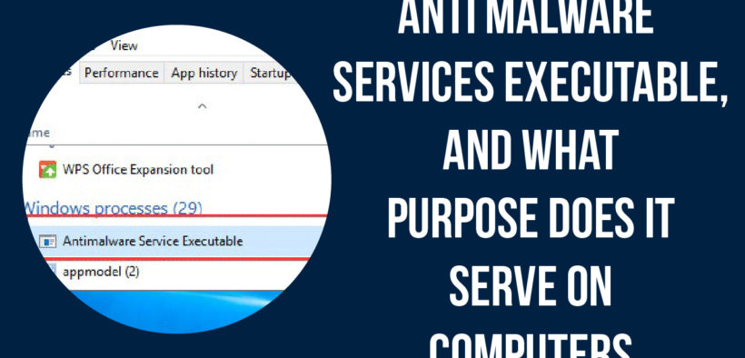antimalware service executable