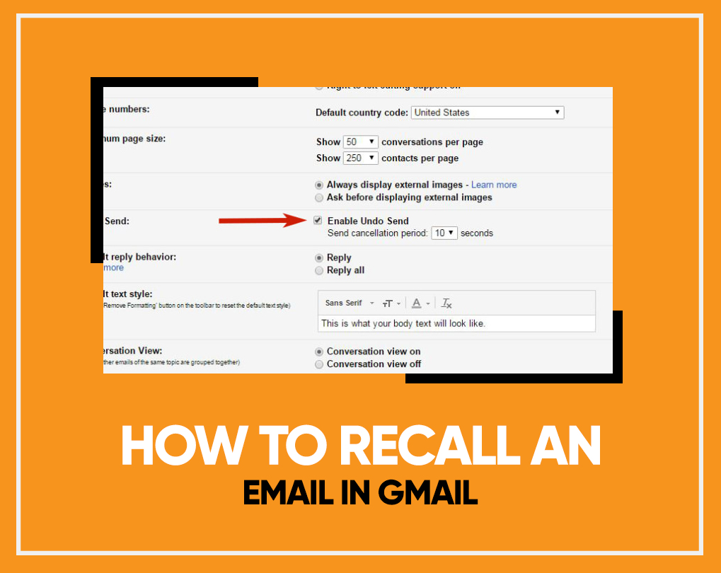 How To Recall An Email In Gmail After 1 Hour