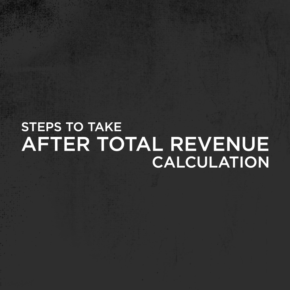 How To Calculate Total Revenue